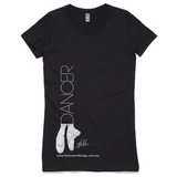 Dancer Women's Shirt - Black - Side Design