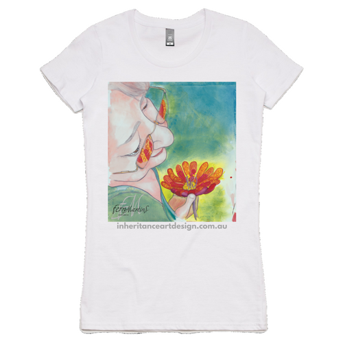 """Gail"" Women's Shirt - White"