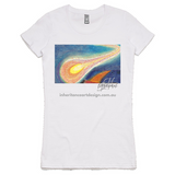 Comet Women's Shirt - White