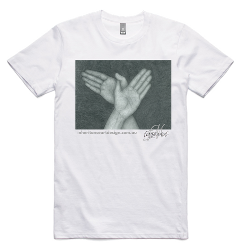 Hands Men's Shirt - White
