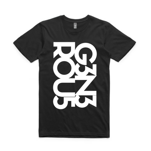 Guy's White G3N3ROU5 Staple Tee