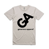 Guy's Black GA Logo Staple Tee