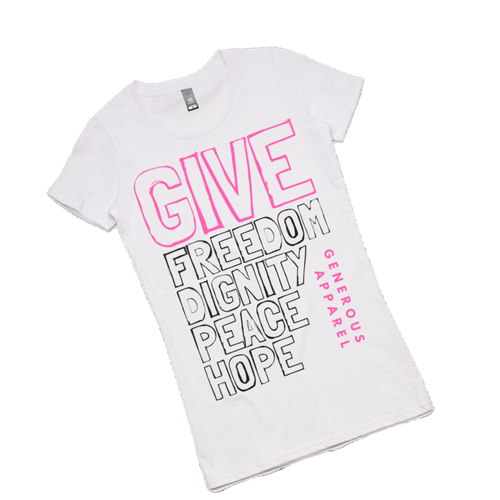 Girl's GIVE FREEDOM Tees