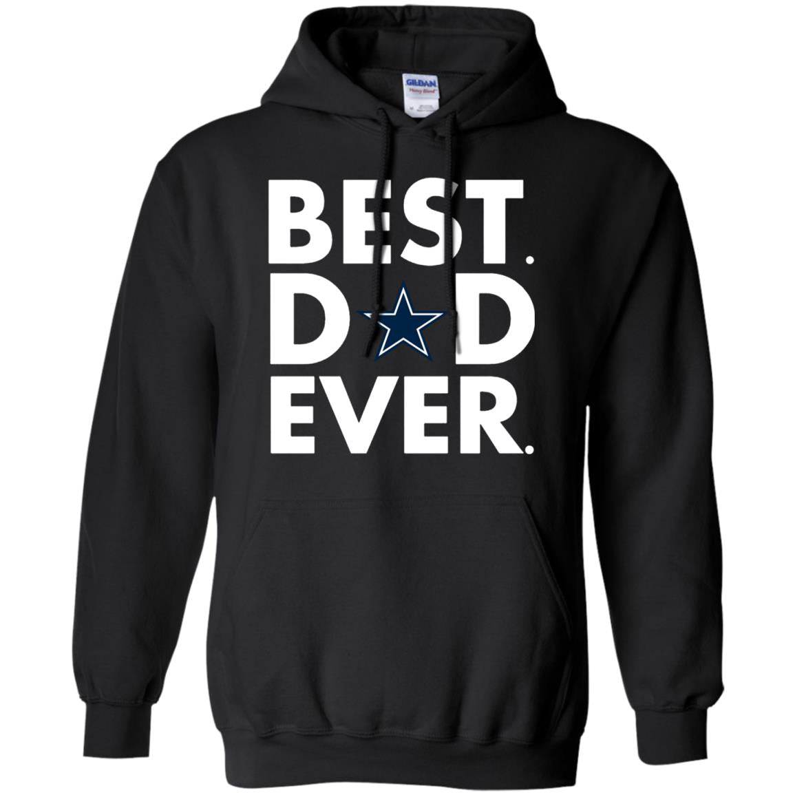 Best Dad Ever - Dallas Cowboys - Father s Day Shirt-TH - Opatee d0a22363f