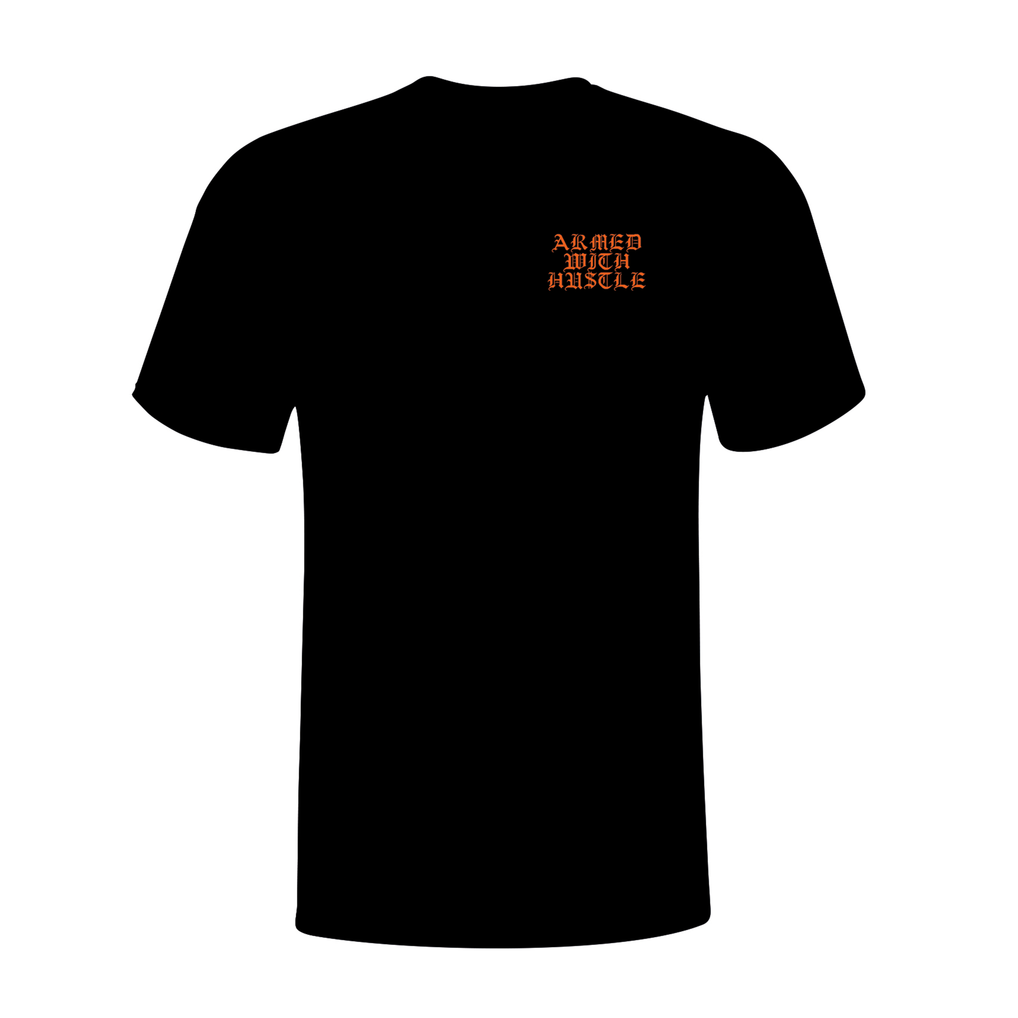 "AWH ""CHAMPIONS"" TEE (BLACK/ORANGE)"