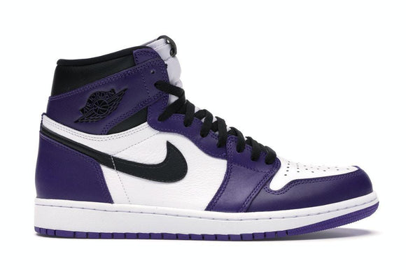 Jordan 1 High Court Purple White