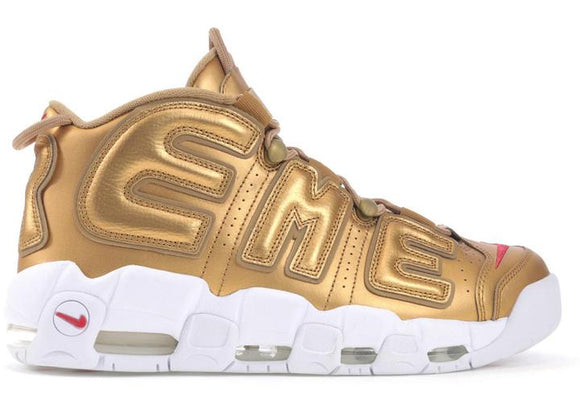 Air More Uptempo Supreme - Gold