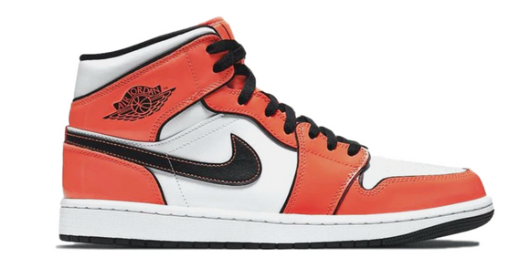 Jordan 1 Mid Orange Patent