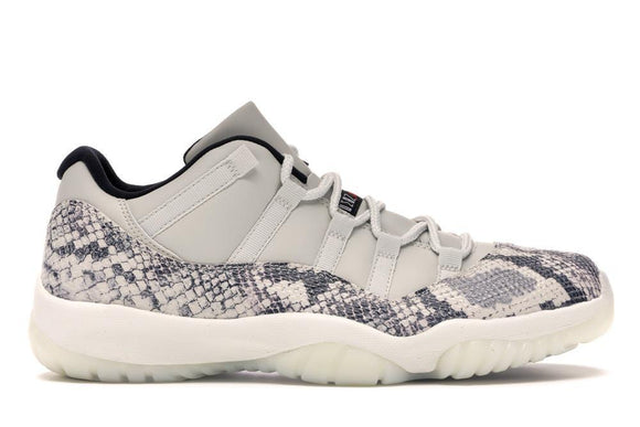 Jordan 11 Low Snake Light Bone