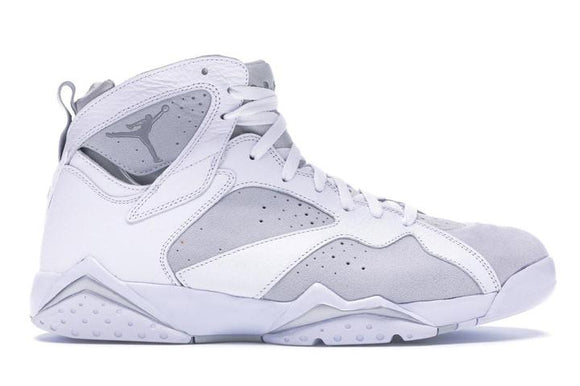 Jordan 7 Metallic White