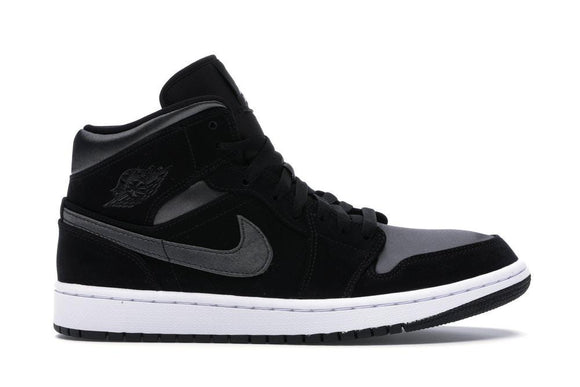 Jordan 1 Mid Nylon Black Anthracite