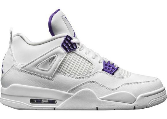 Jordan 4 Metallic Purple