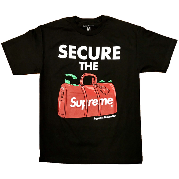 Secure the Bag - Blk