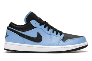 Jordan 1 Low University Blue Black