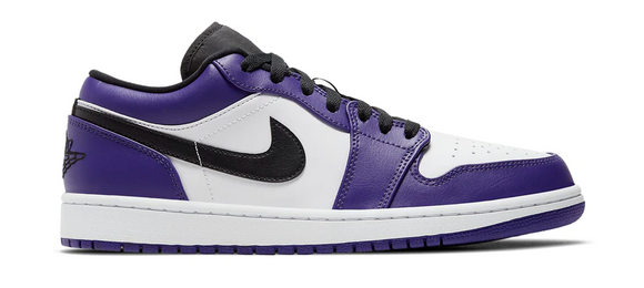 Jordan 1 Low Court Purple 2.0