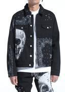 Kingdom Denim Jacket - Black