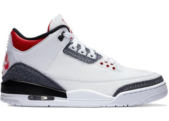 Jordan 3 Fire Red Denim (2020)