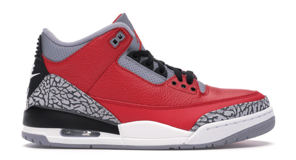 Air Jordan 3 Red Cement Unite