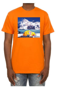 bb camping ss tee - orange