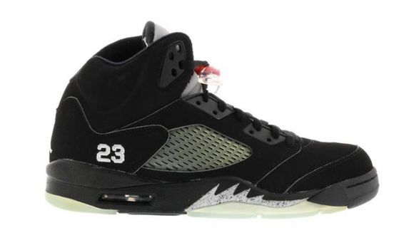 Jordan 5 Black Metallic 2007