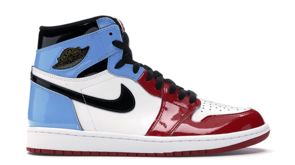 Jordan 1 Retro High Fearless UNC Chicago`