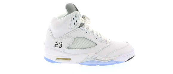 Jordan 5 White Metallic