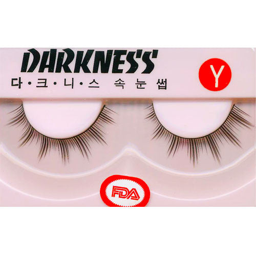 Darkness False Eyelashes Y