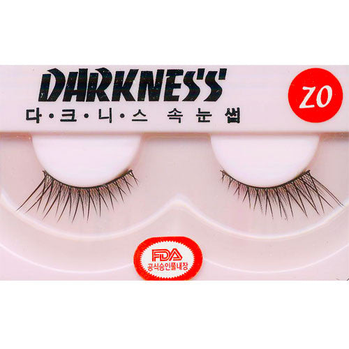 Darkness False Eyelashes ZO