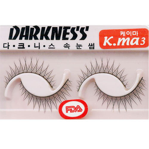 Darkness False Eyelashes Kma3
