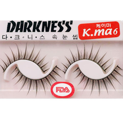 Darkness False Eyelashes Kma6