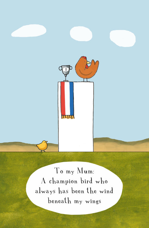 A Champion Bird  [Greeting Card]