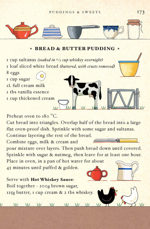 Bread and Butter Pudding [Greeting Card]