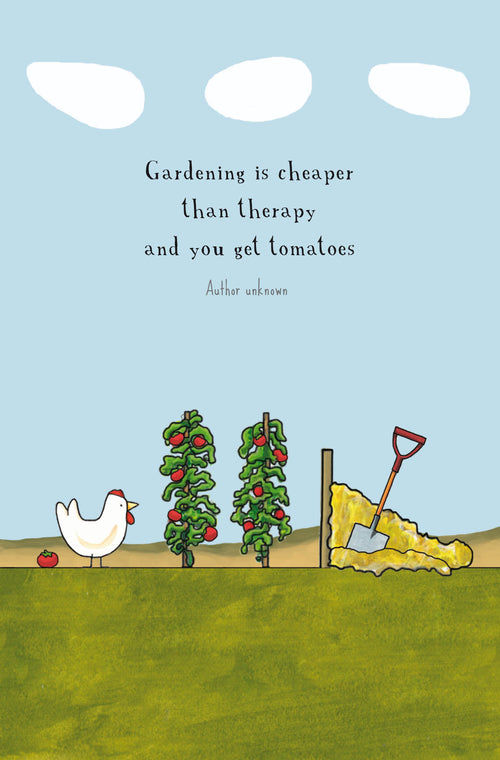 Garden Therapy [Greeting Card]
