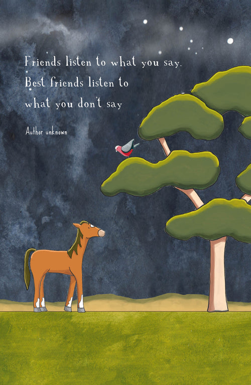 Intuitive Friend [Greeting Card]