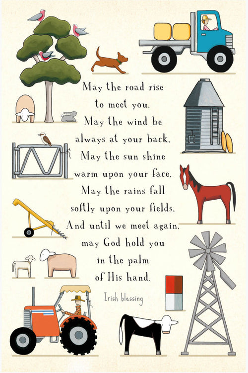 Mixed Farming Blessings [Greeting Card]