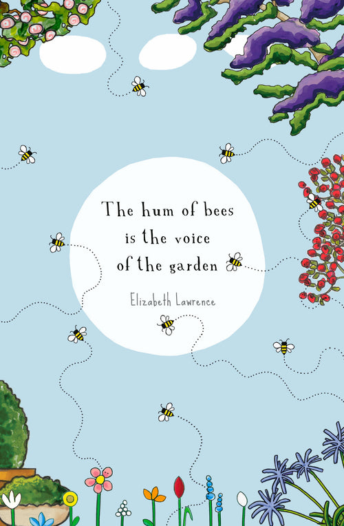 The Hum of Bees [Greeting Card]