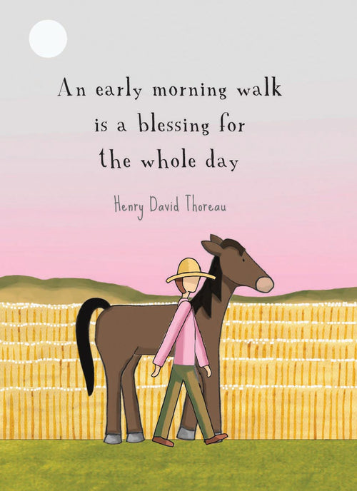 An Early Morning Walk [GIFT CARD]