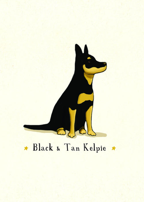 Black and Tan Kelpie [GIFT CARD]