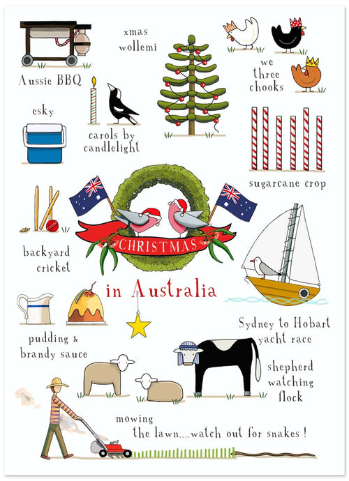 Christmas in Australia [GIFT CARD]
