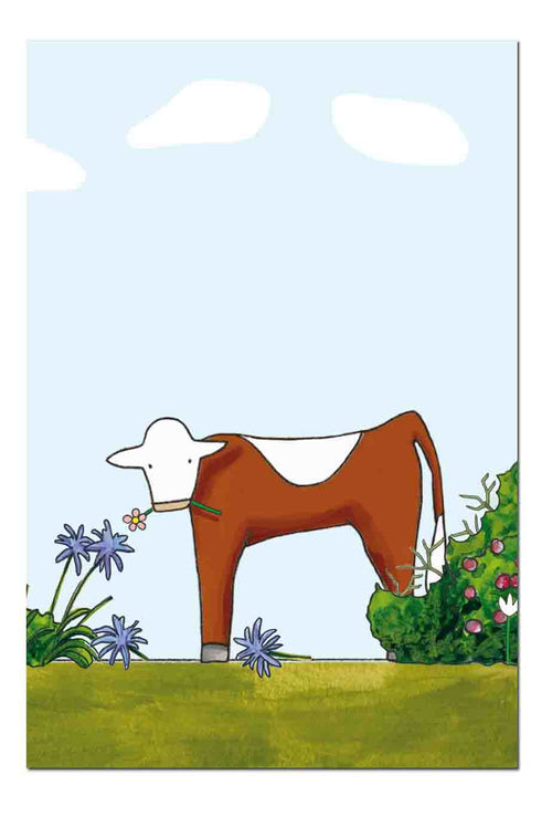 Cow in the Garden [GIFT CARD]