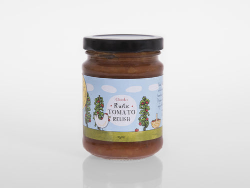Chook's Rustic Tomato Relish [JARTOM]