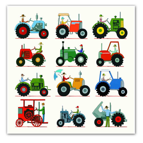 The Tractor Show [SQUARE CARD]