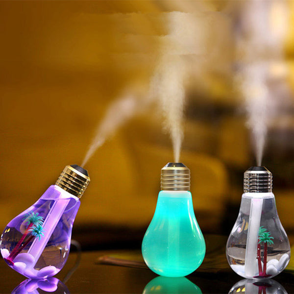 Ultrasonic Aroma Diffuser Humidifier 400ML USB 5V 7Colors Night Light Essential Oil Aromatherapy Diffuser - Essential Oil Accessories
