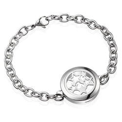 Silver Star Essential Oil Diffuser Bracelet - Essential Oil Accessories