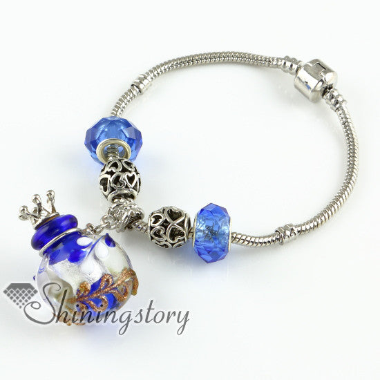 Essential oil diffuser bracelet Silver bracelet - Essential Oil Accessories