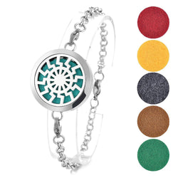 Aztec Sun Essential Oil Diffuser Bracelet - Essential Oil Accessories