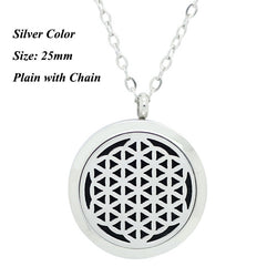 Celestial Star stainless steel essential oil diffuser necklace - Essential Oil Accessories