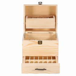 3 Layer Essential Oil Wooden Storage Box - Essential Oil Accessories