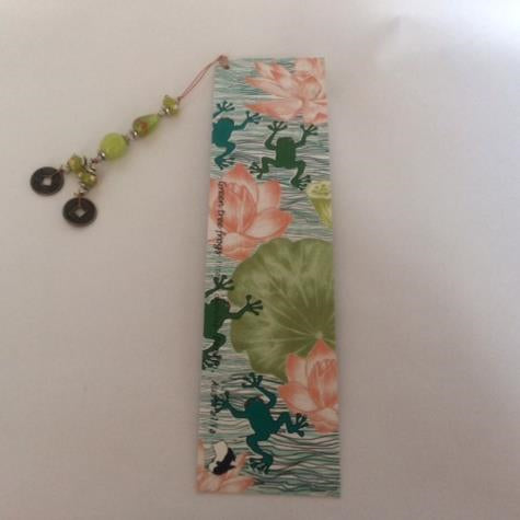 Judith Durnford Beaded Bookmark