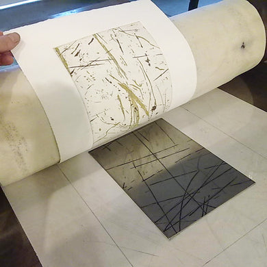 Aluminium Etching Printmaking Workshop - September